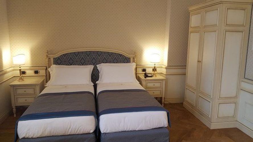Luxustwinzimmer marconi hotel mailand