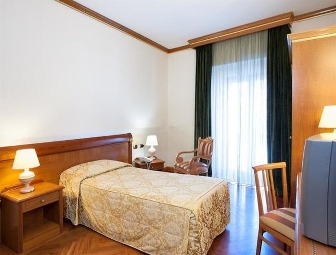 Einzelzimmer marconi hotel mailand