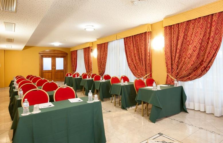 Konferenzraum marconi hotel mailand