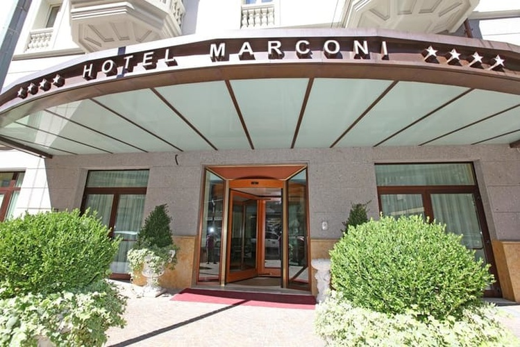 Fassade Marconi Hotel Mailand